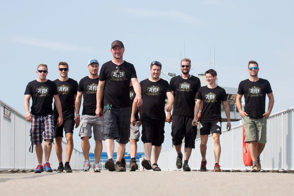 JEVER Abenteuer Tour 2015, Tag 03, Alt Wittenbergen - Tuemmlauer Koog, 03.07.2015